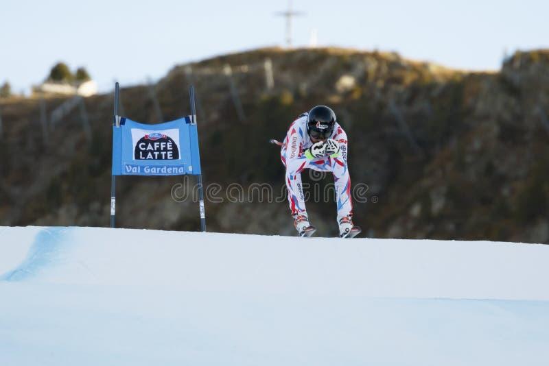 ROGER Brice dans FIS Ski World Cup alpin - le SUPER-G des 3èmes HOMMES photos libres de droits