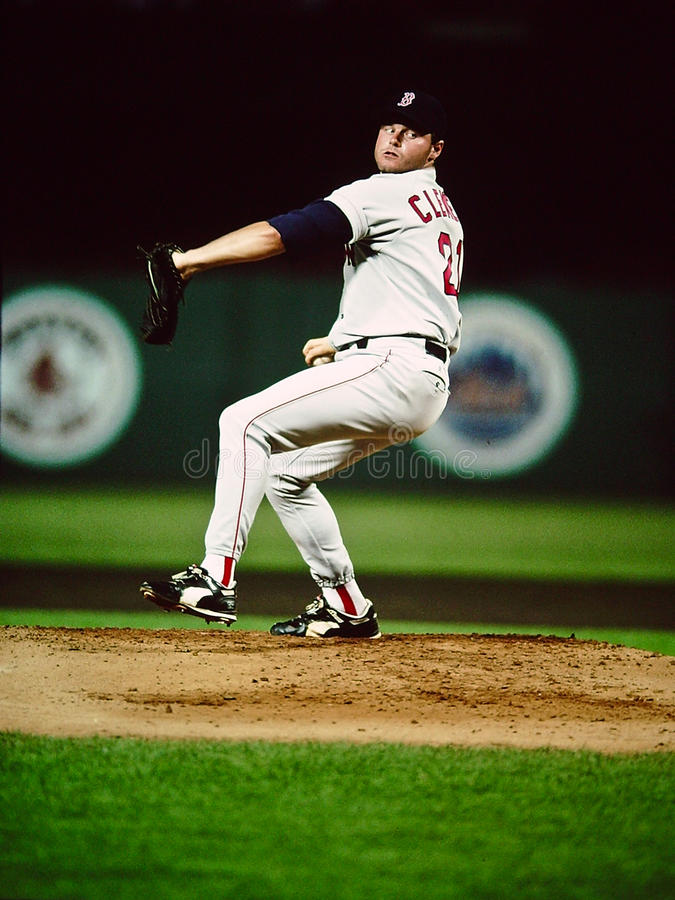 Roger Clemens Boston Red Sox images stock