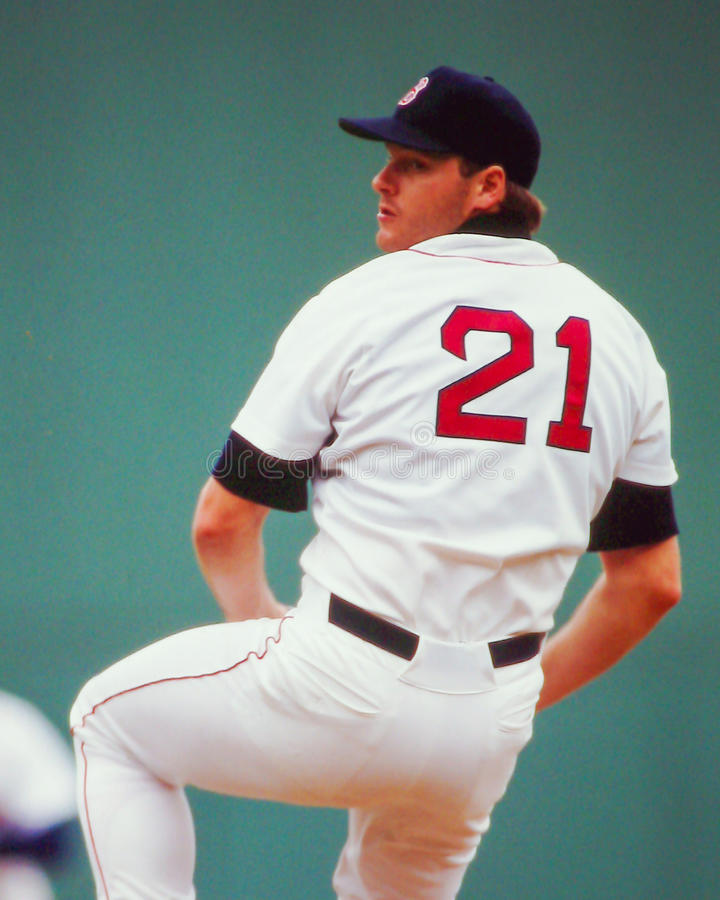 Roger Clemens Boston Red Sox image stock