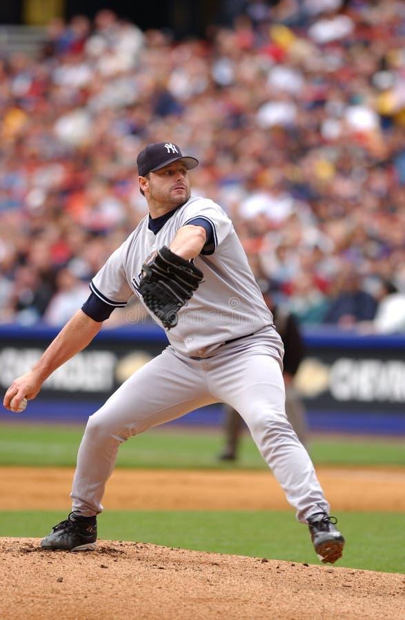 Roger Clemens New York Yankees image libre de droits