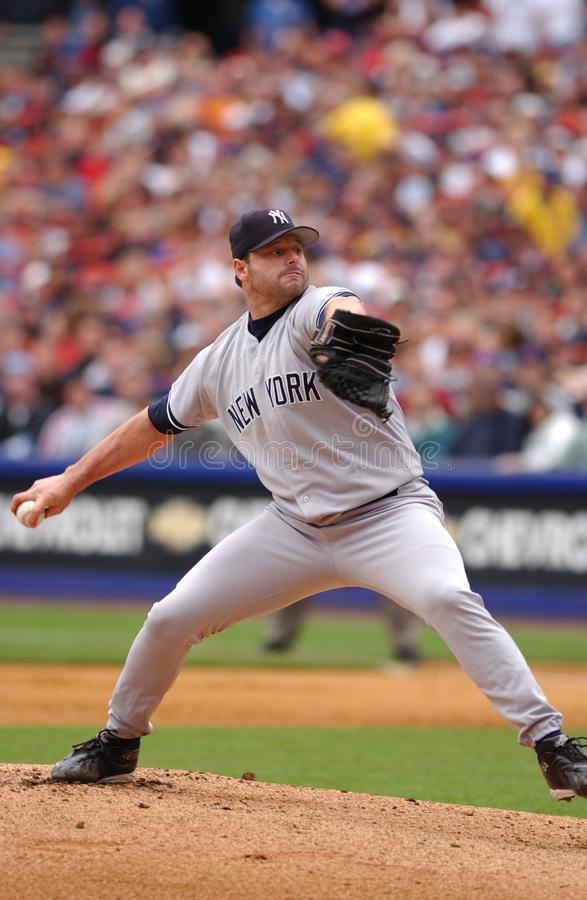 Roger Clemens New York Yankees images libres de droits