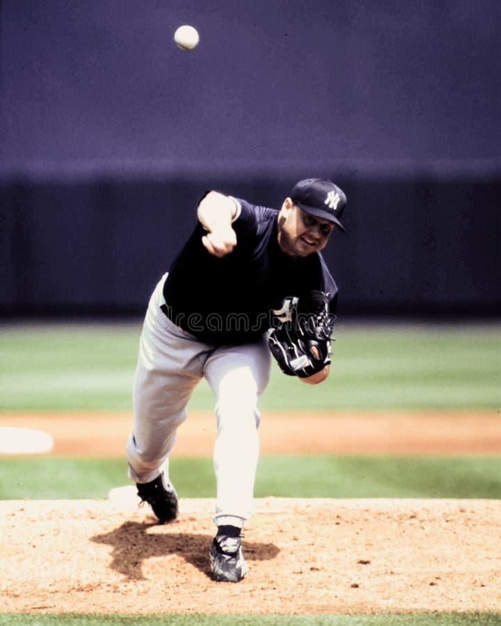 Roger Clemens New York Yankees immagine stock