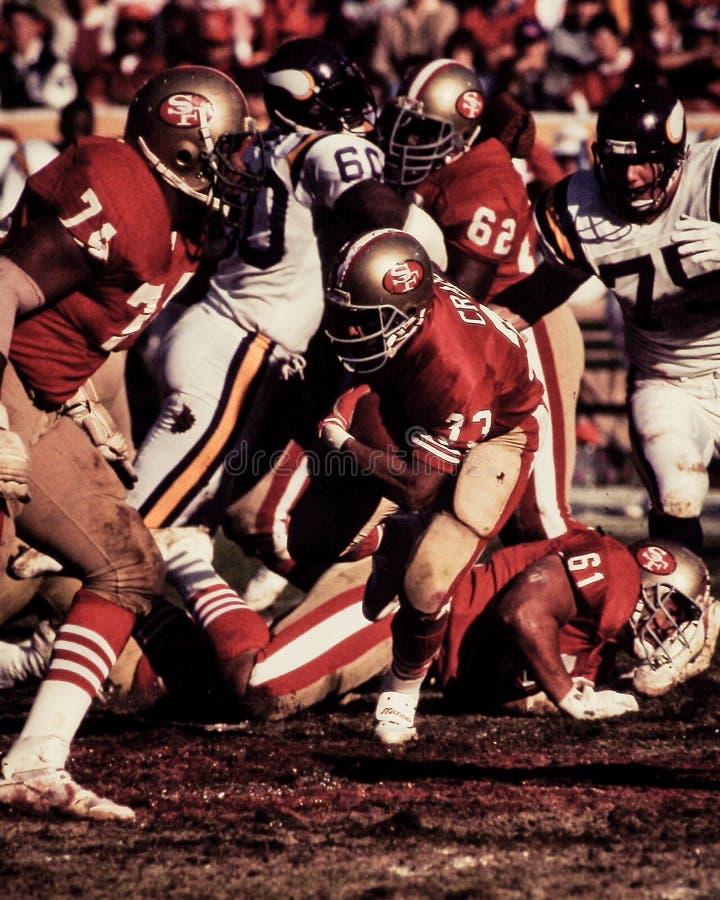 Roger Craig San Francisco 49ers imagens de stock royalty free