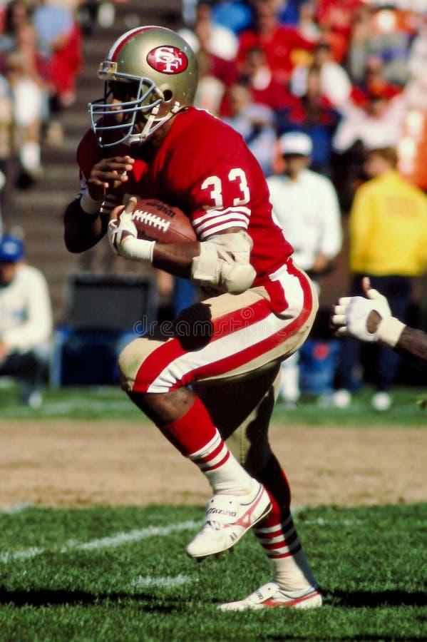 Roger Craig San Francisco 49ers imagens de stock