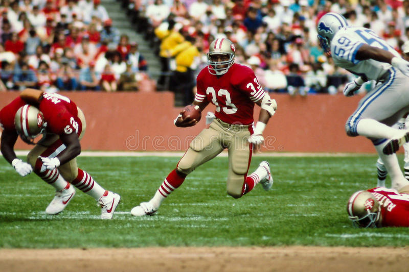 Roger Craig San Francisco 49ers foto de stock royalty free