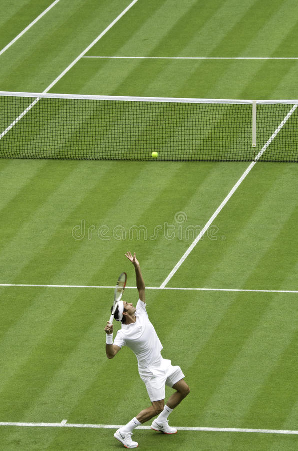 Roger Federer imagen de archivo