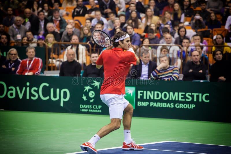 Roger Federer imagen de archivo libre de regalías