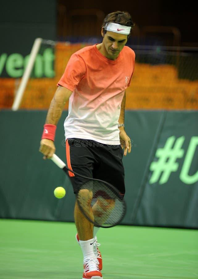 Roger Federer photo stock