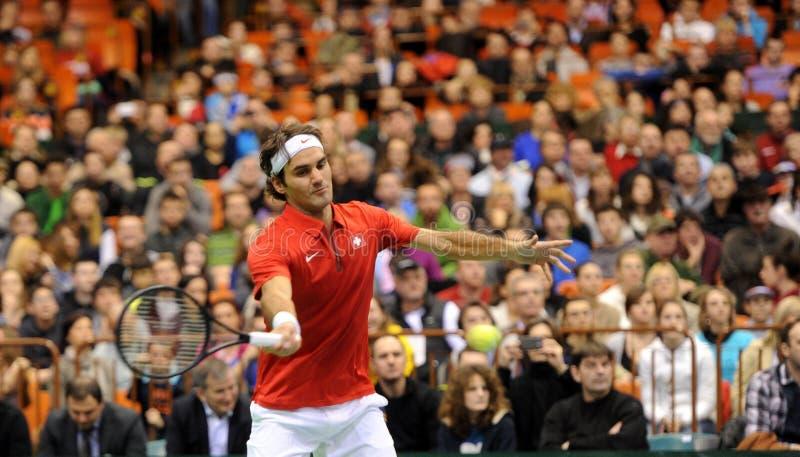 Roger Federer photographie stock