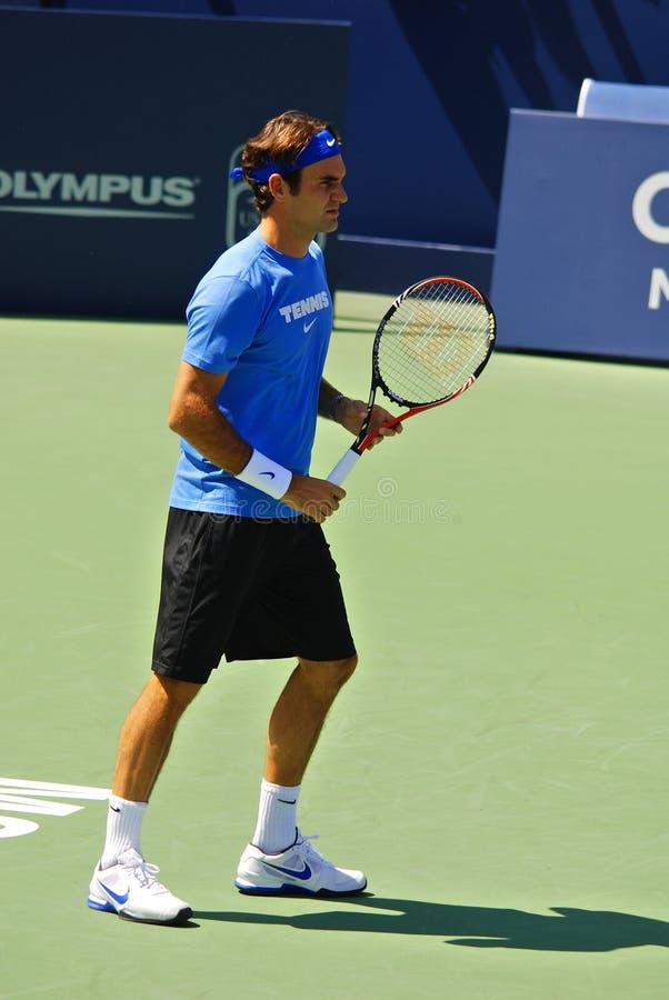 Roger Federer photographie stock libre de droits