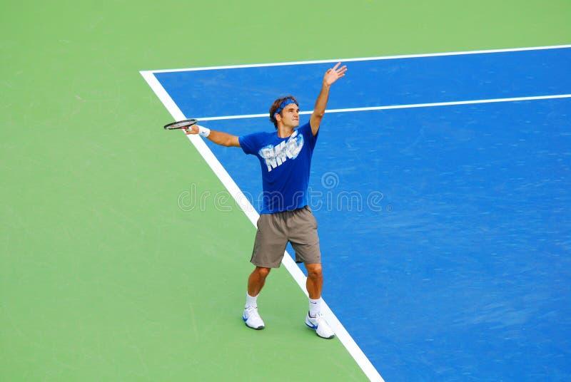 Roger Federer fotografia stock libera da diritti