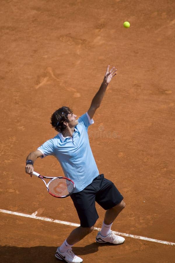 Roger Federer Zwitserland stock afbeeldingen