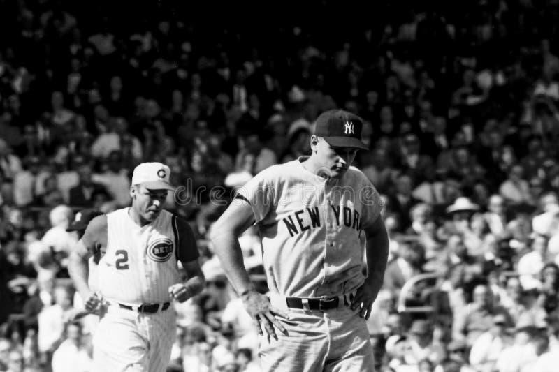 Roger Maris New York Yankees immagini stock