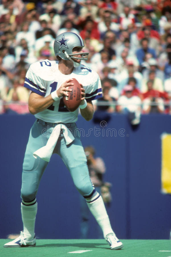 Roger Staubach Dallas Cowboys fotos de stock