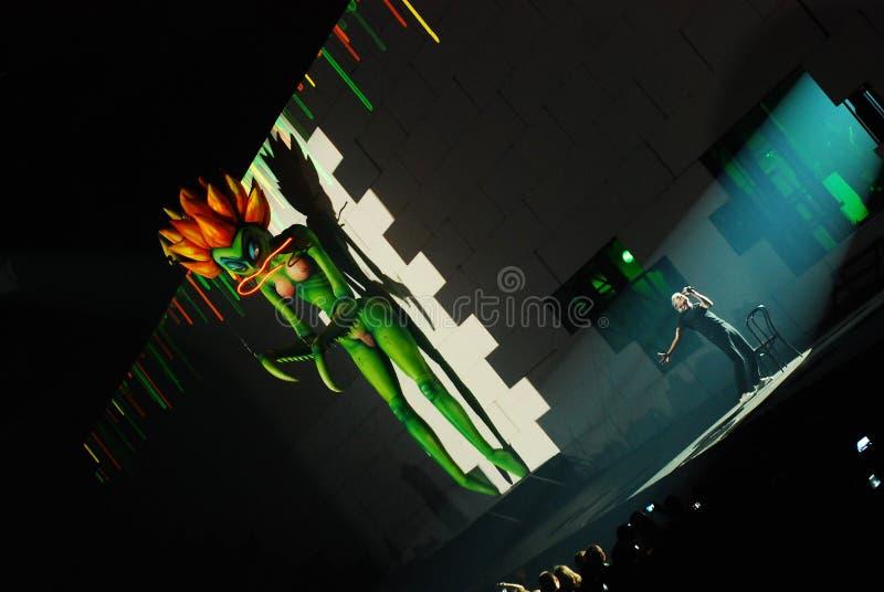 Roger Waters de concert photographie stock