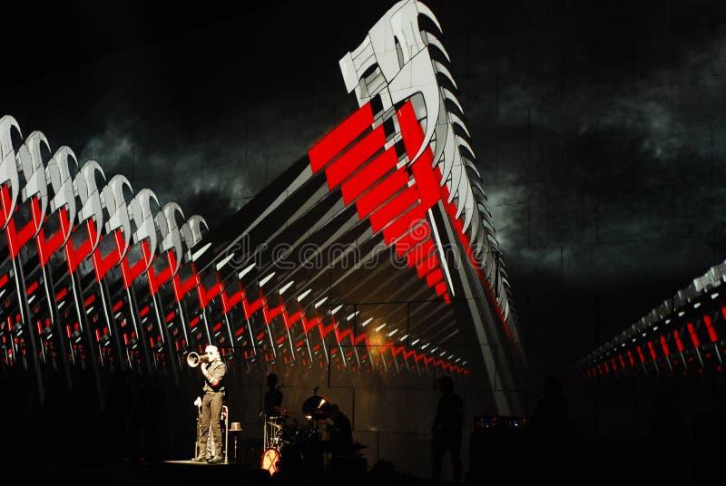 Roger Waters de concert photo libre de droits