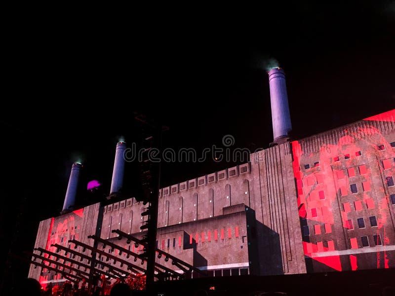 Roger Waters de concert chez Circo Massimo, Rome photo stock