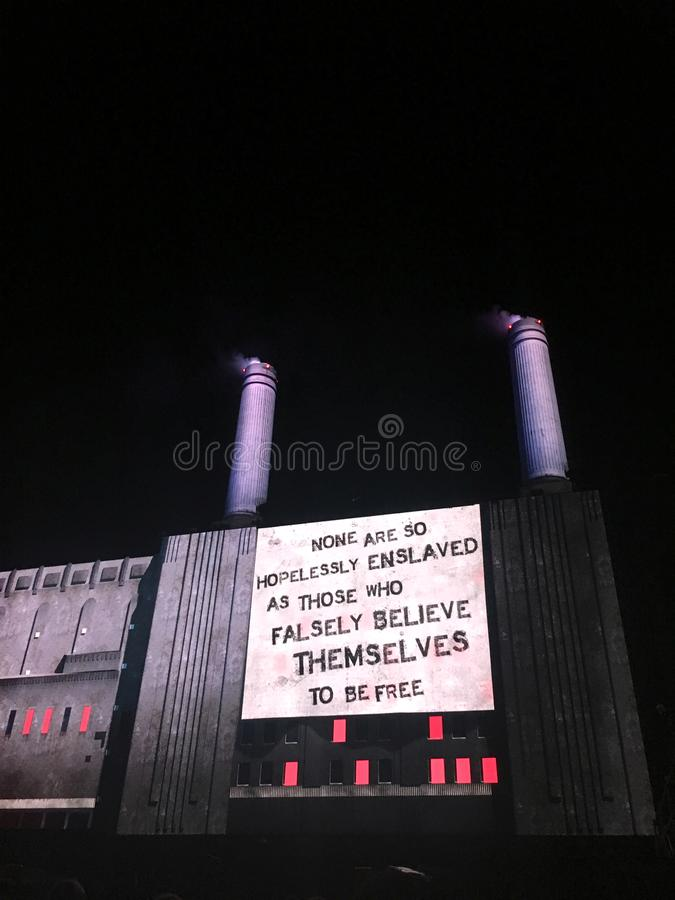 Roger Waters de concert chez Circo Massimo, Rome photo libre de droits