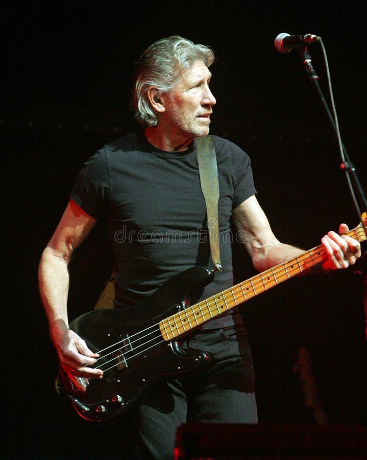 Roger Waters exécute de concert photographie stock