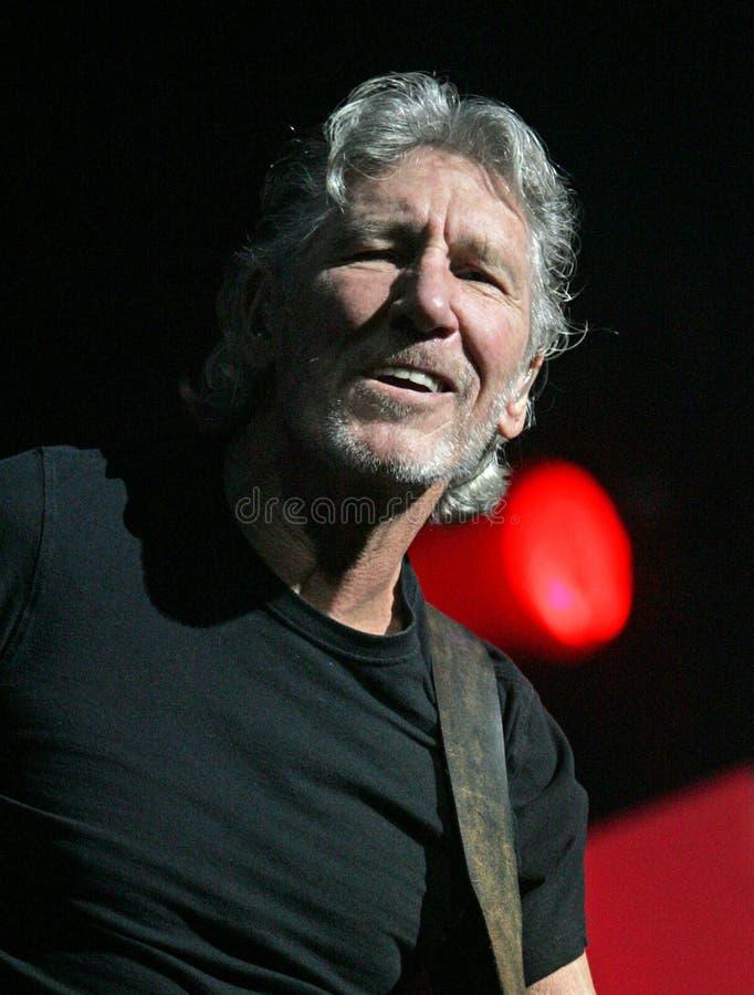 Roger Waters exécute de concert images stock