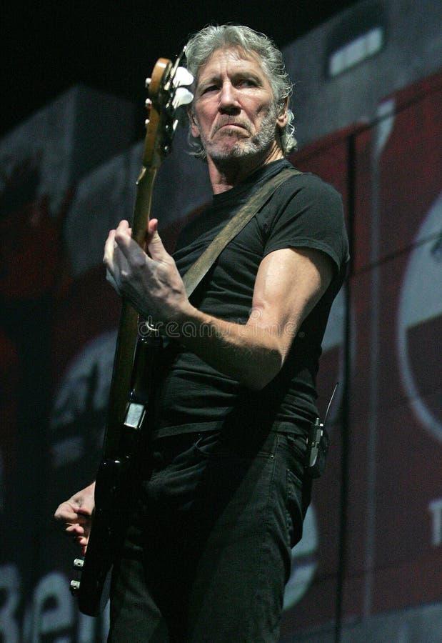 Roger Waters exécute de concert photo libre de droits
