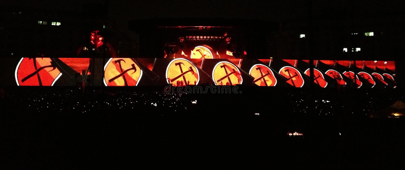Roger Waters, le mur photographie stock libre de droits
