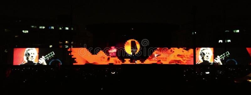 Roger Waters, a parede imagem de stock royalty free