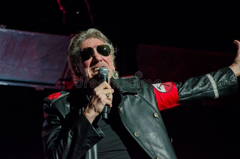 Roger Waters (Pink Floyd) de Muurreis stock afbeeldingen