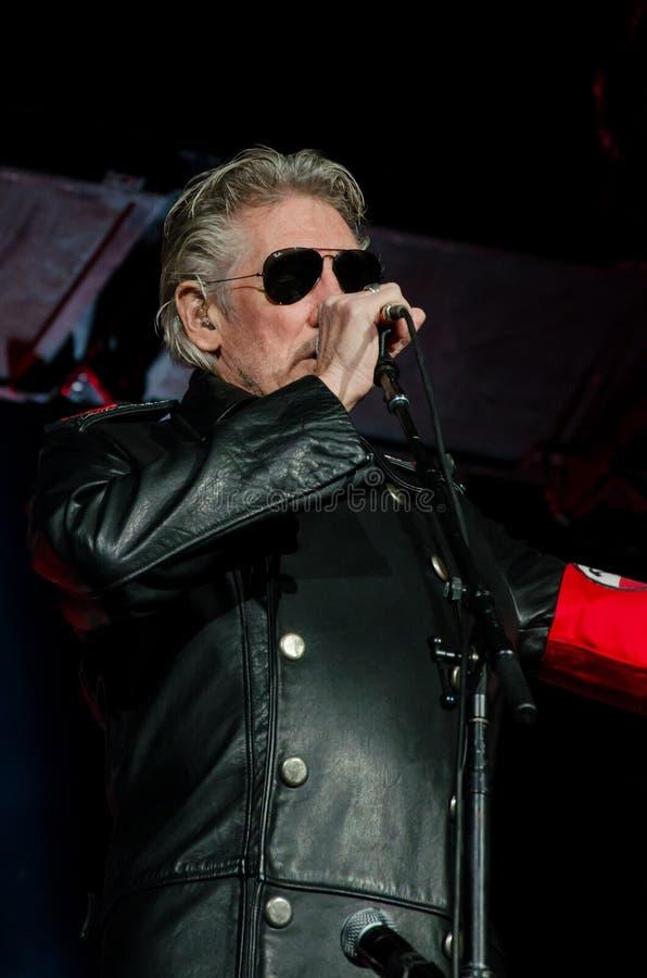 Roger Waters (Pink Floyd) la visite de mur photographie stock libre de droits