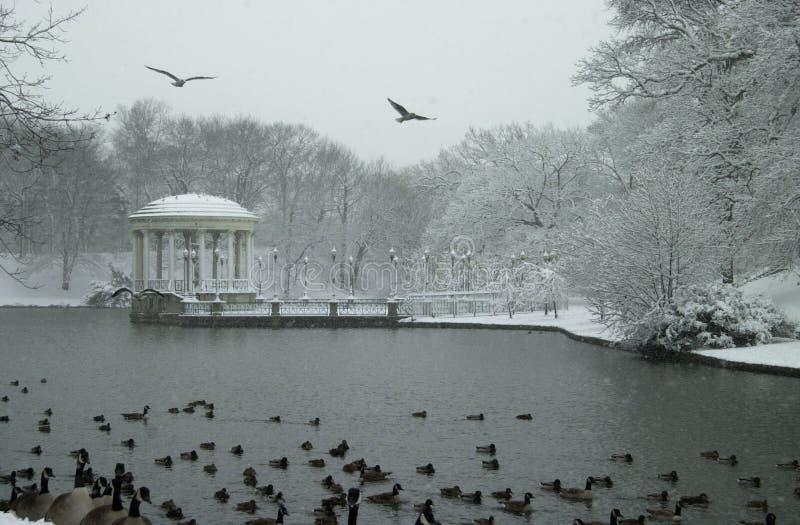Roger Williams Park royaltyfria bilder
