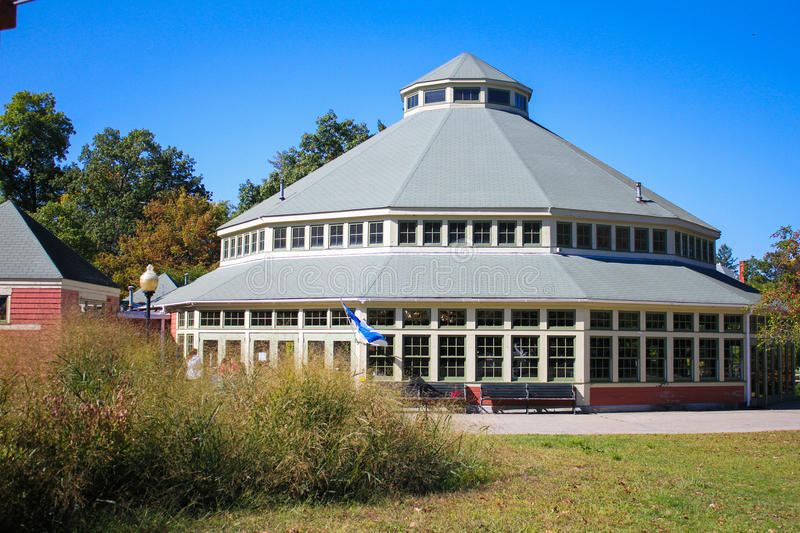 Roger Williams Park Carousel photographie stock
