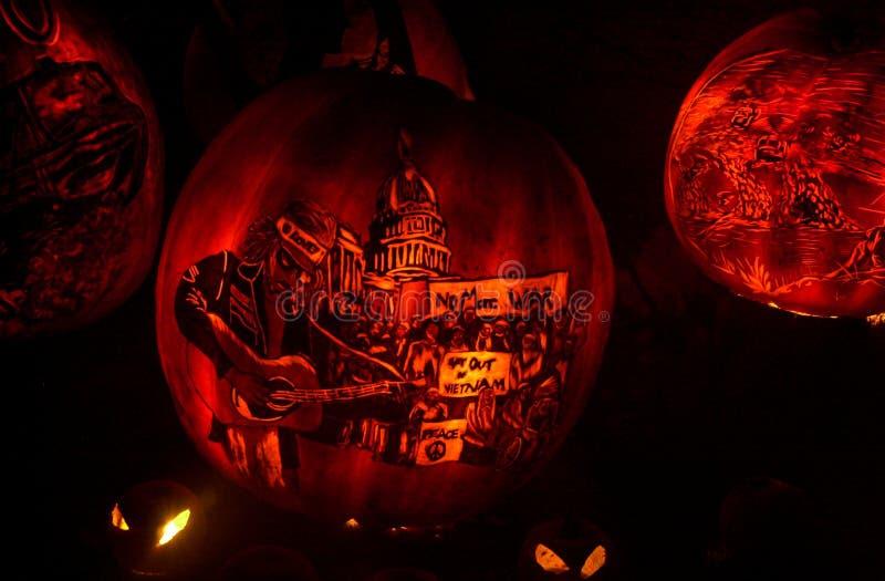Roger Williams Zoo Halloween Spooktacular fotografia stock