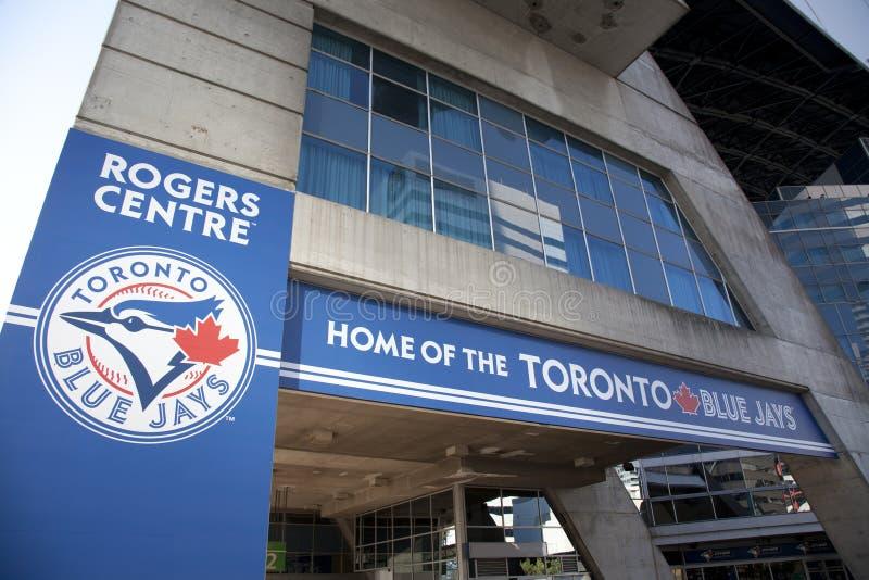 Rogers centre dom błękitny sójka baseball obrazy royalty free