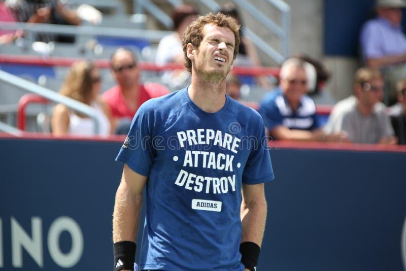 Rogers filiżanka Andy Murray fotografia stock