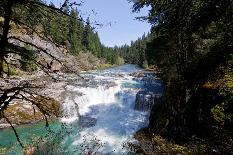 OR-Rogue-Umpqua Scenic Byway stock photography