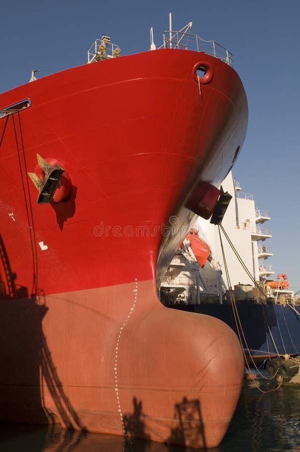 Rohöl-Trägerlieferung des Tankers lizenzfreies stockbild