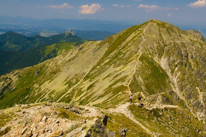 Rohace berg i Slovakien royaltyfria foton