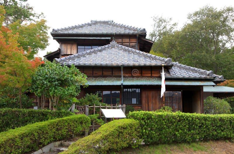 Rohan Koda House in Meji mura. Meiji-mura open air architectural museum preserves historic buildings in Japan royalty free stock photography