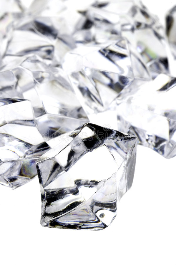 Rohe Diamanten stockfotos