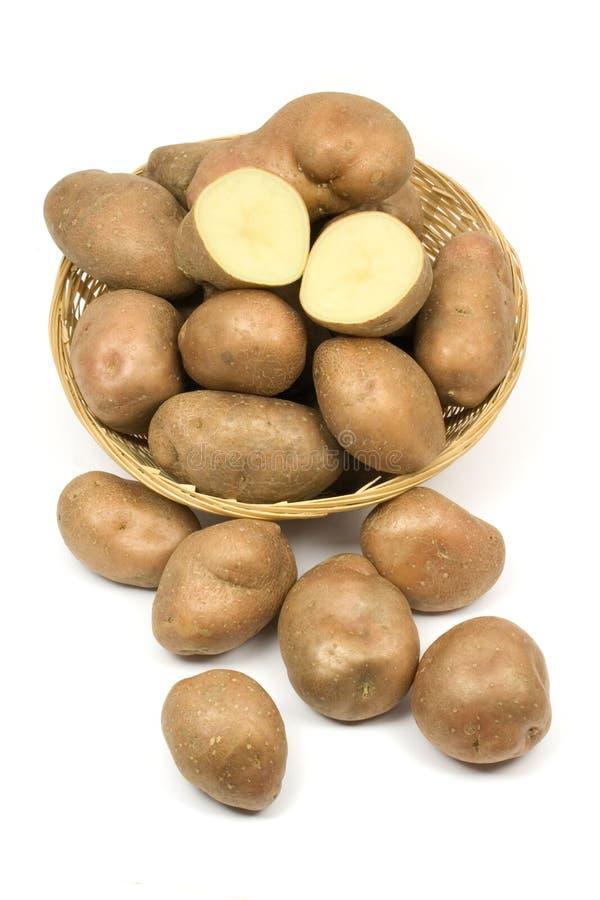 Rohe Kartoffeln stockfotos