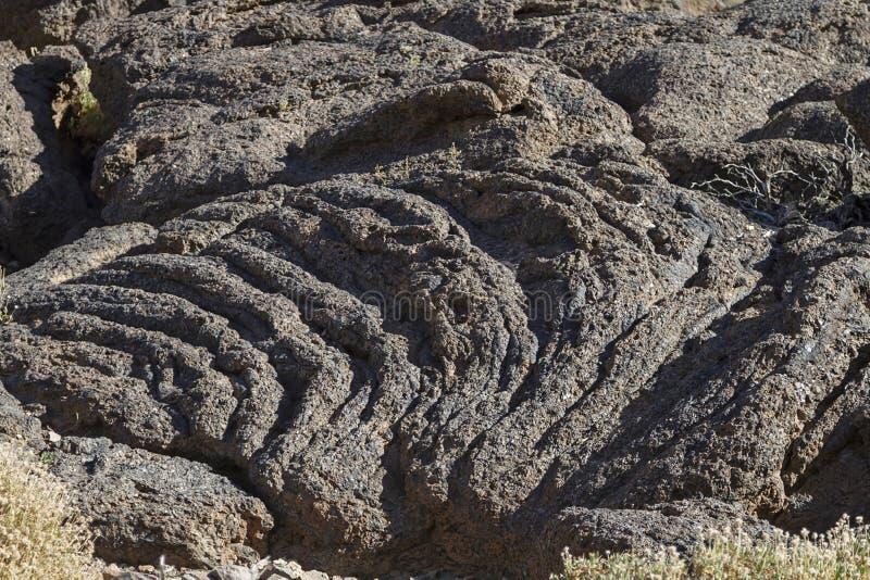 Rohe Lava stockbilder