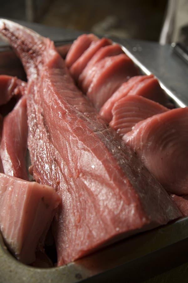 Roher Thunfisch lizenzfreie stockbilder
