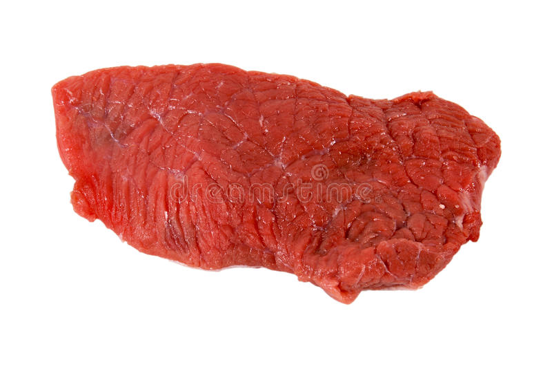 Rohes Fleisch stockbild