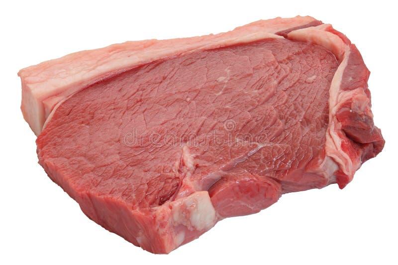 Rohes Rindfleisch stockbild