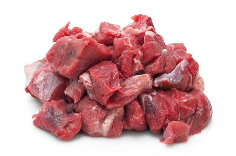Rohes Rindfleisch stockfoto