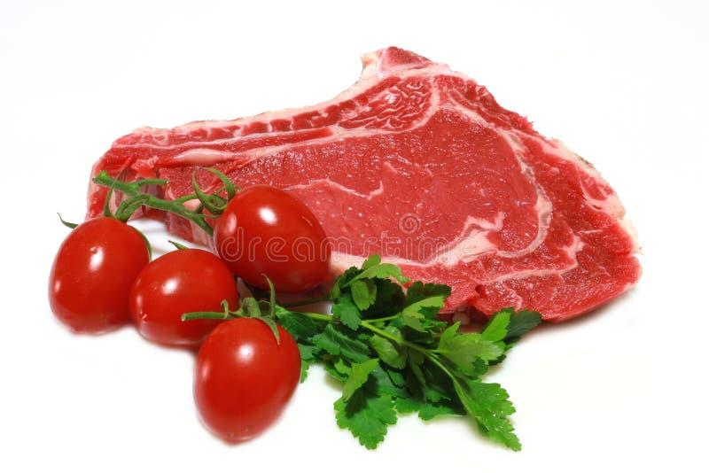 Rohes Steak lizenzfreies stockbild