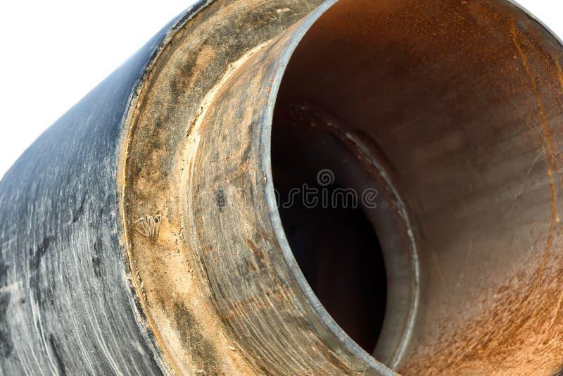Rohr in der Isolierung. stockfoto
