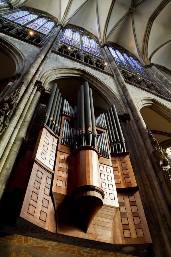 Rohr-Organ stockfotografie