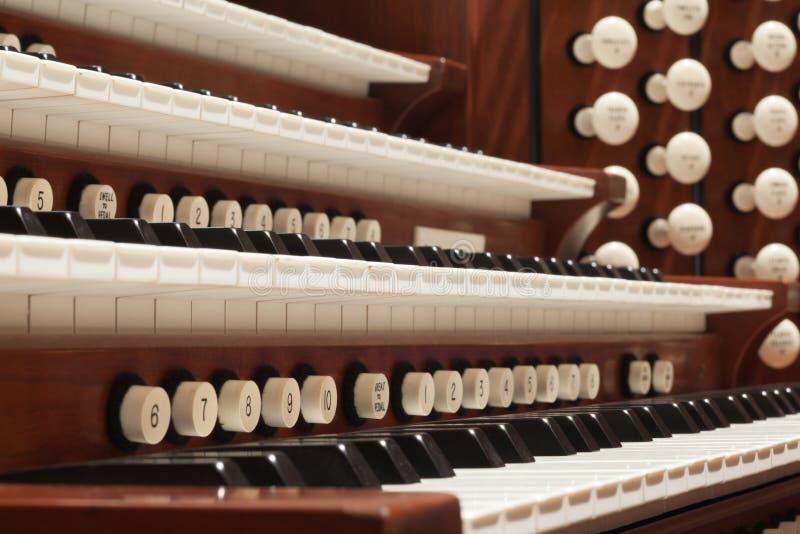 Rohr-Organ lizenzfreies stockbild
