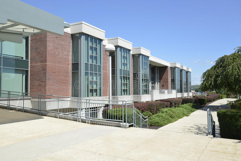 Rohrbach图书馆,库茨敦大学 图库摄影